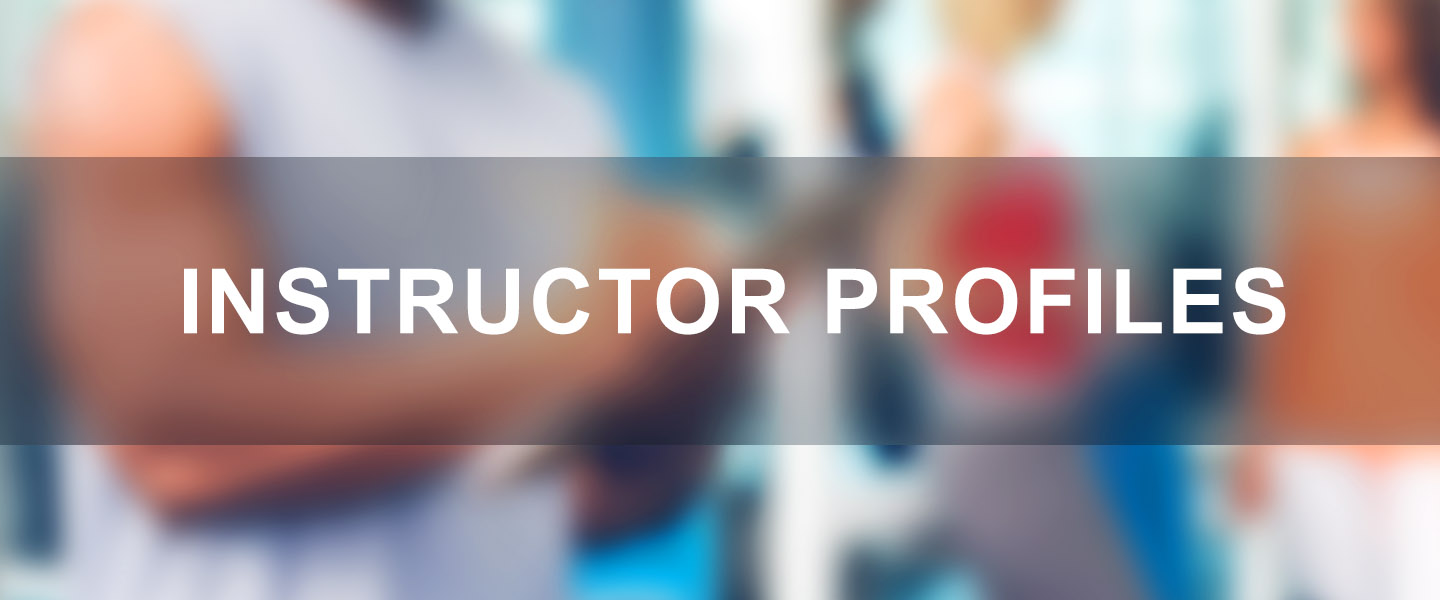 about our instructors