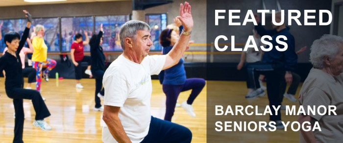 yoga for seniors - vancouver barclay manor community centre