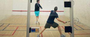 Fitness squash players