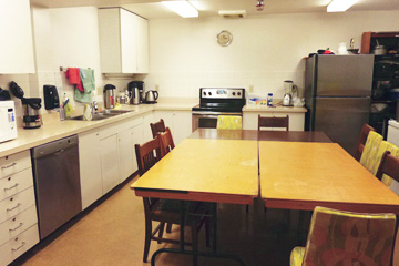Kitchen Rental Room Barclay Manor