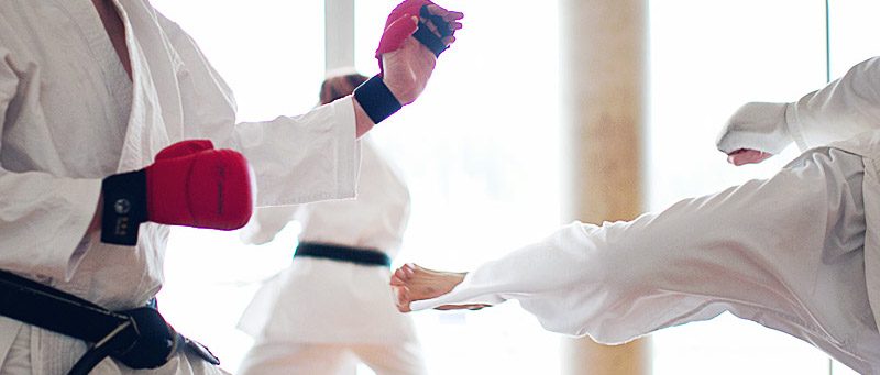 Children's karate class in Vancouver