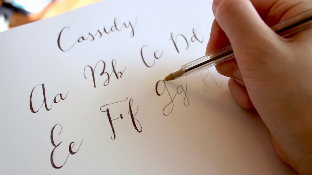 featured class calligraphy - coal harbour