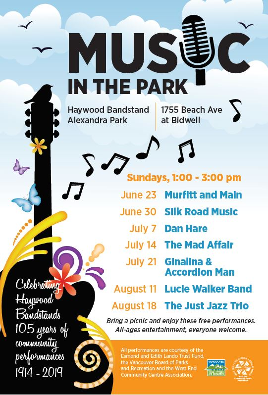 West End Music in the Park 2019