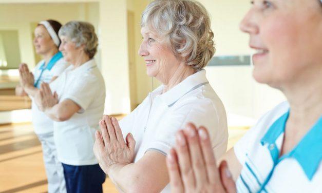 Yoga for Seniors at Barclay Manor