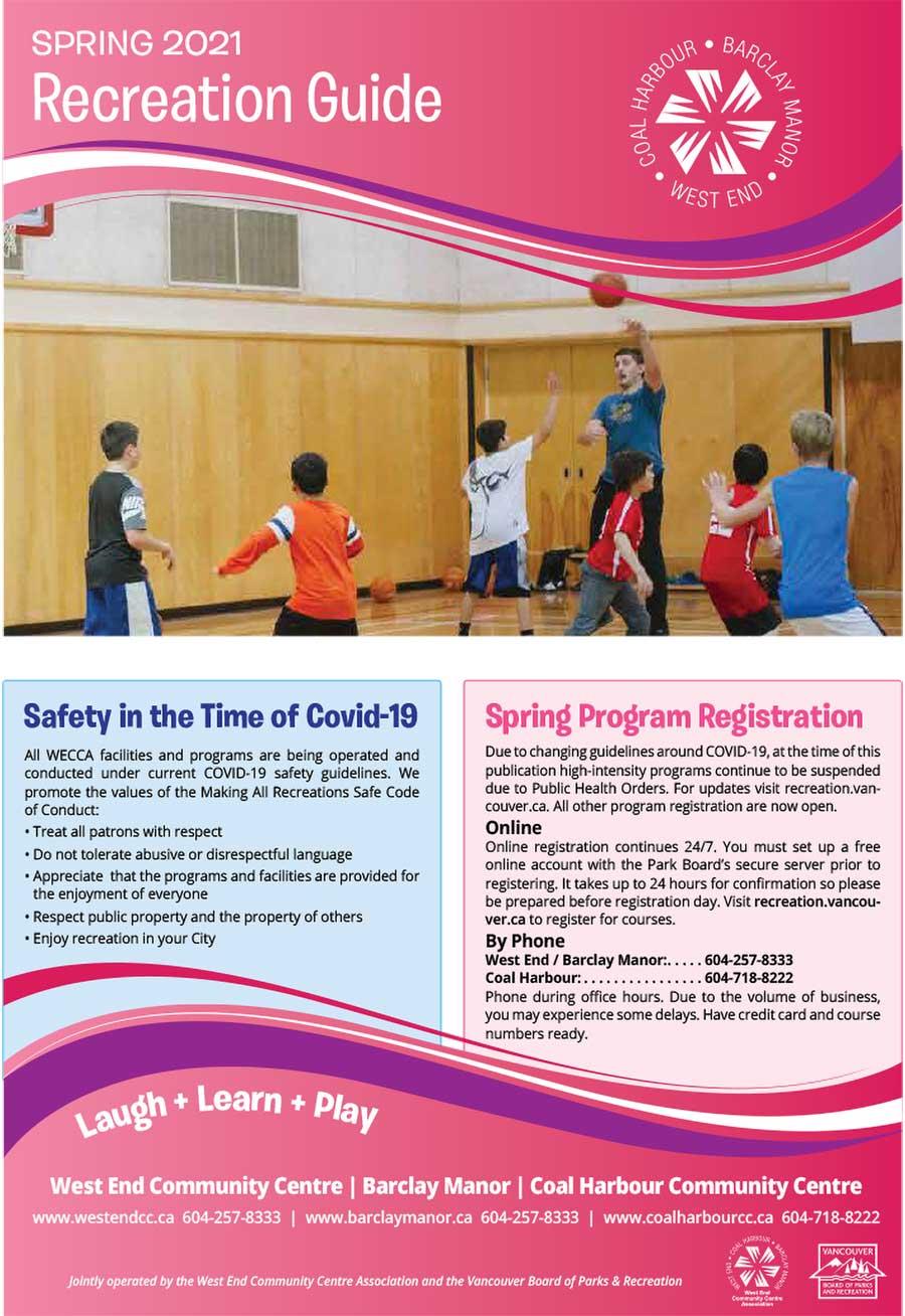 Download our spring programs brochure