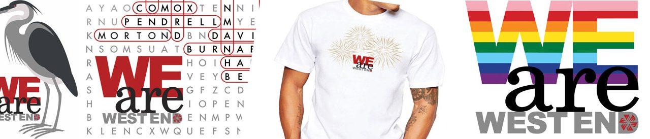 New T-shirt Designs – Show off your West End Community Spirit!